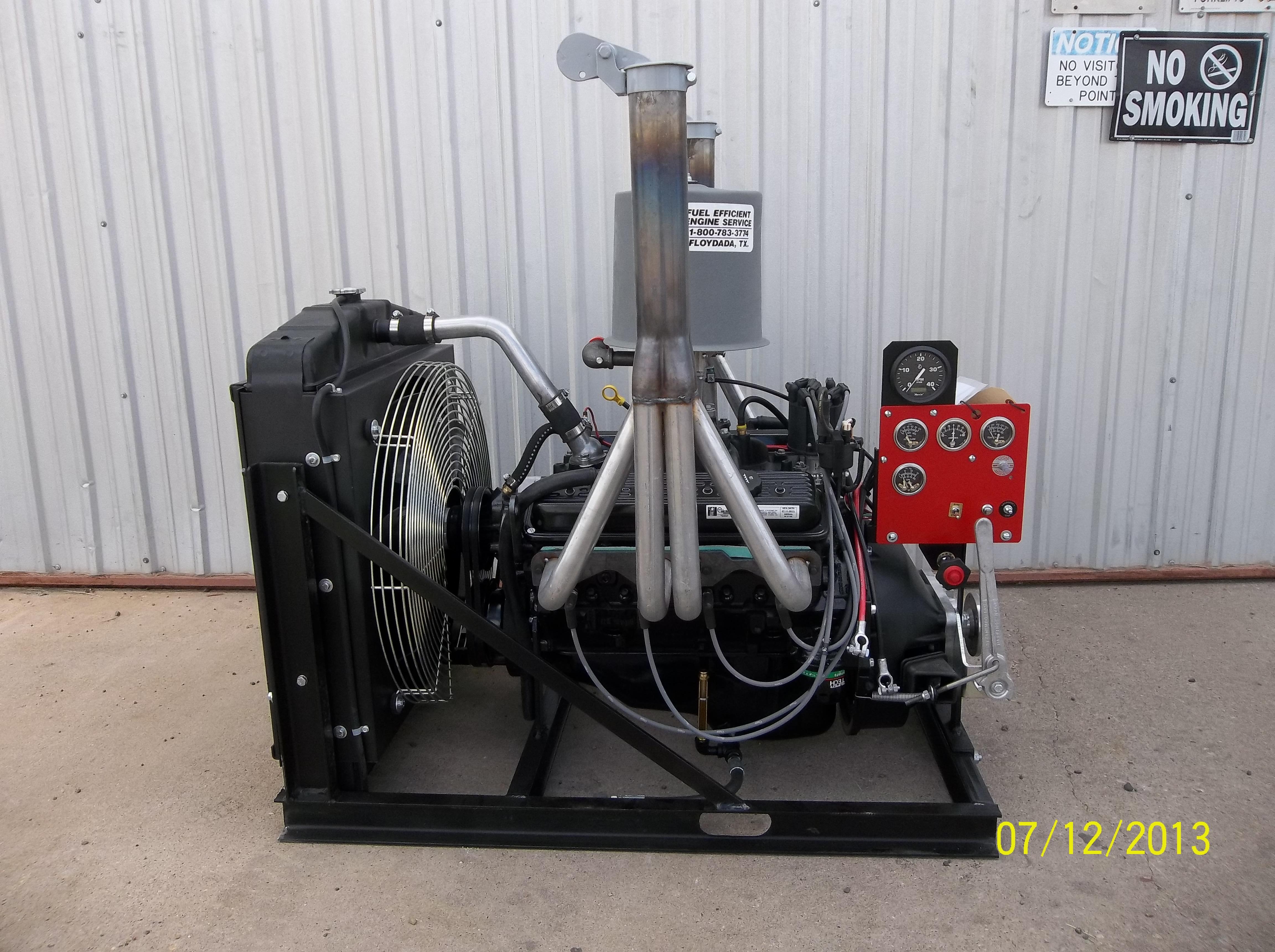 Don Hardy Fuel Efficient Engines Gm 8 1 Liter Engine 350 Ptoradiator 3106899 Bytes 57l Chevrolet